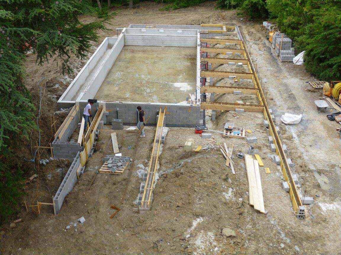 Construction de piscines o 39 mineraux for Piscine en beton