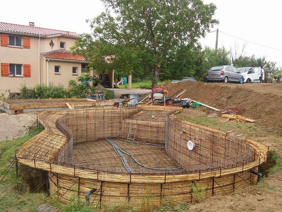 Construction de piscines o 39 mineraux for Construction piscine albi