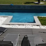 Piscine contemporaine sur mesure